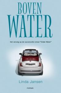 publicatie cover roman ´Boven water´ van de auteur Linda Jansen NAU Uitgeverij te Blaricum